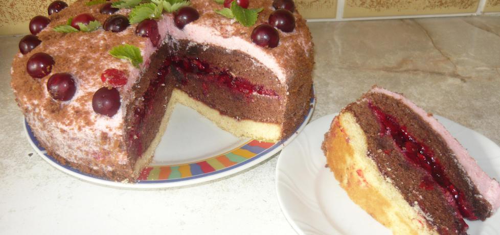 Tort wiśniowy (autor: danusia19671)