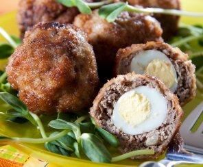 Szkockie jajka  prosty przepis i składniki