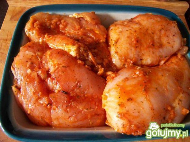 Przepis  pikantne piersi z kurczaka wg agabi przepis