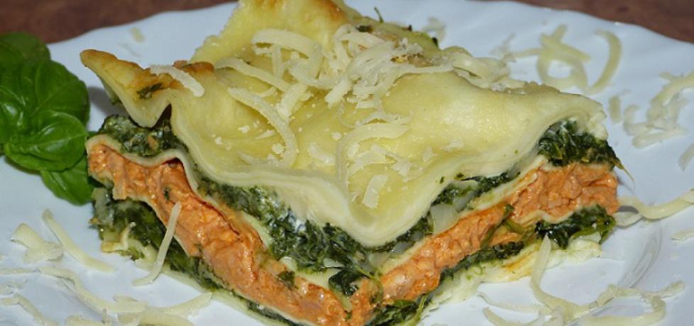 Lasagne ze szpinakiem i łososiem (autor: magda21 ...