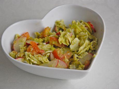 Przepis  sałatka z awokado przepis