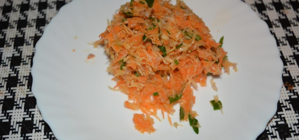 Surówka z marchewki i pietruszki (autor: motorek)