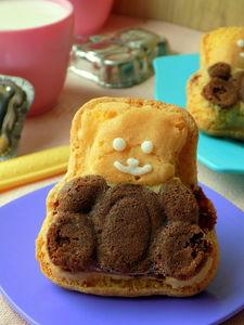 Domowe ciasteczka misie lubisie