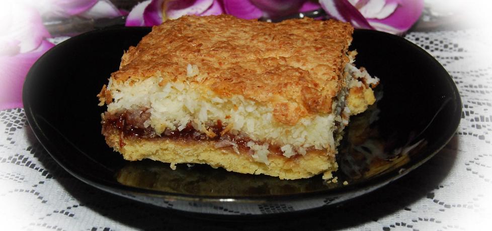 Kruche ciasto kokosowe z dżemem (autor: fotoviderek ...
