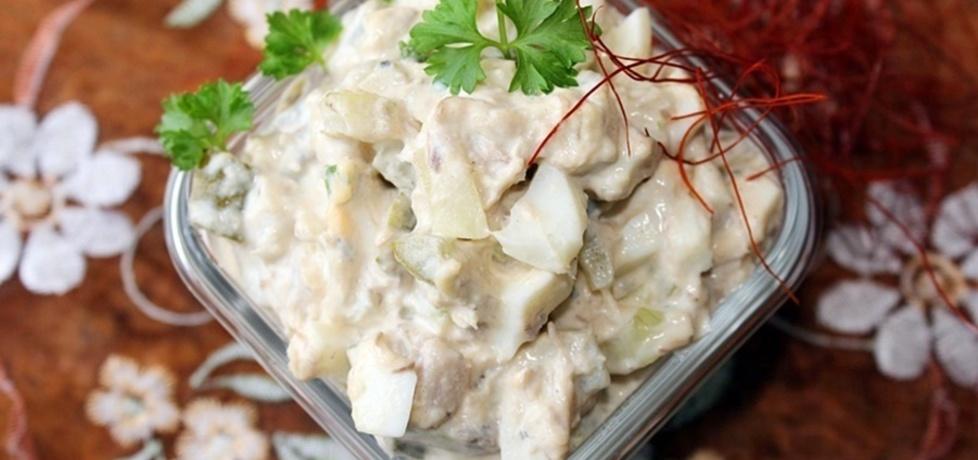 Sałatka z makrelą w oleju (autor: diana-rusilowicz)