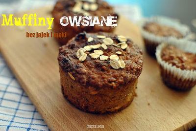 Muffiny z płatkami owsianymi