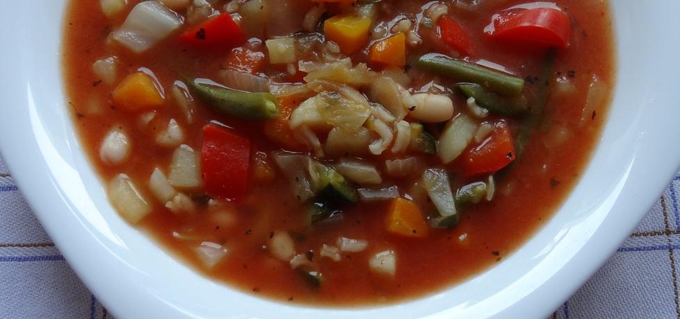 Włoska zupa minestrone (autor: cukiereczek)