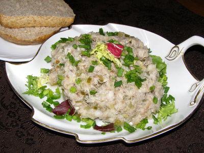 Pasta z makreli wędzonej z olejem rzepakowym
