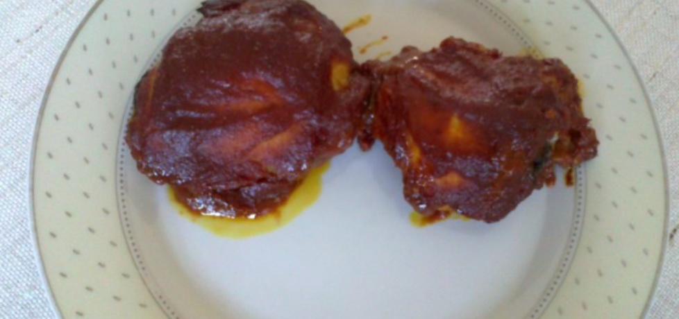 Pieczony kurczak w pikantnym sosie (autor: megg)