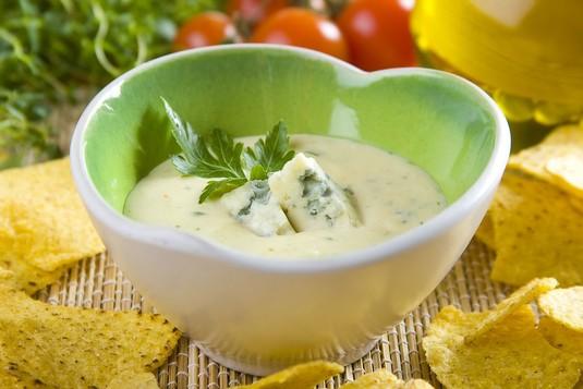 Sos serowy z sera pleśniowego