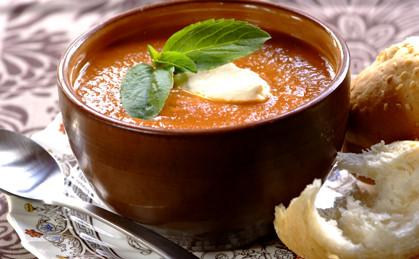 Szybka zupa z soczewicy