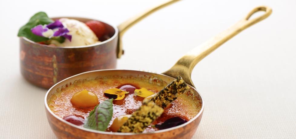 Crème brûlée z truskawkami i serkiem mascarpone roberta sowy ...