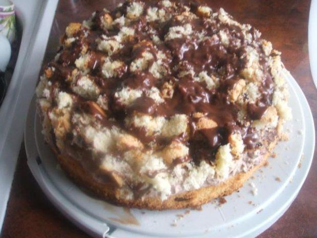 Przepis  tort z kremem sułtańskim przepis
