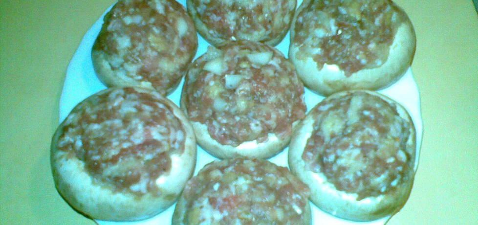 Pieczarki faszerowane mięsem mielonym (autor: miroslawa4 ...