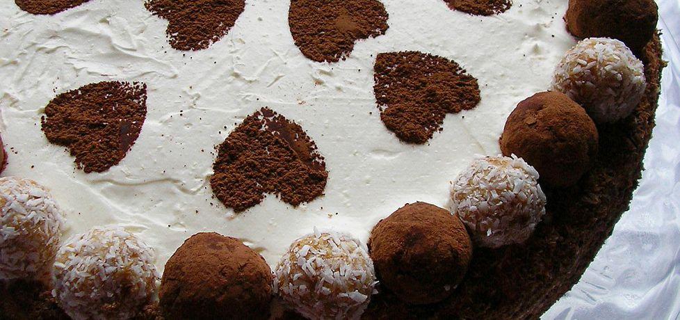 Tort czekoladowy z rumowymi trufelkami (autor: ola1984 ...