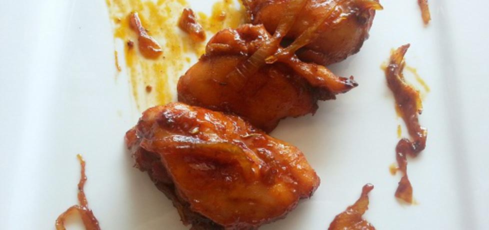 Filetowane udka kurczaka w miodzie z cebulą (autor ...