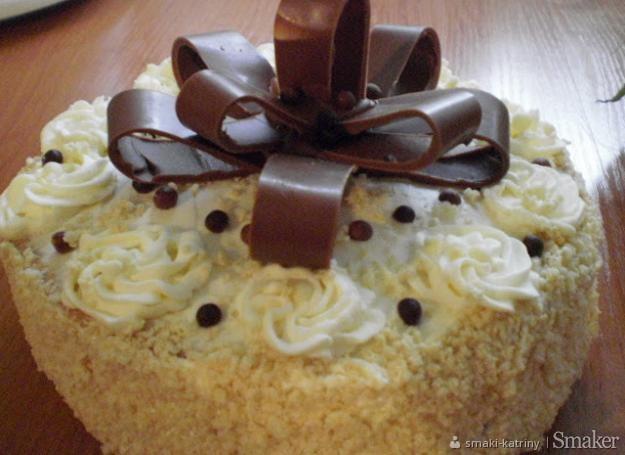 Tort śmietankowo kokosowy princessa