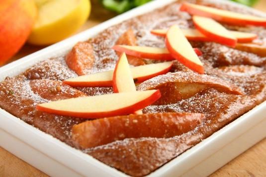 Hiszpański placek z jabłkami