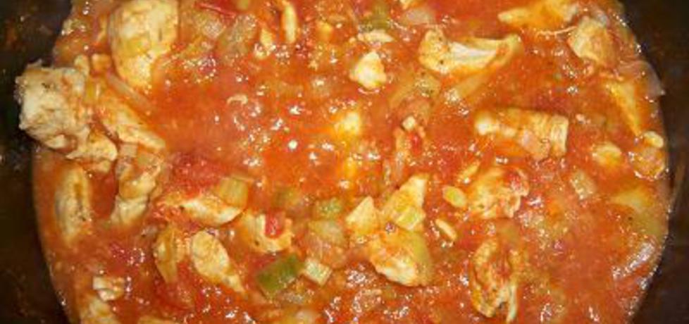 Gulasz z indyka w sosie pomidorowym (autor: mariola21 ...