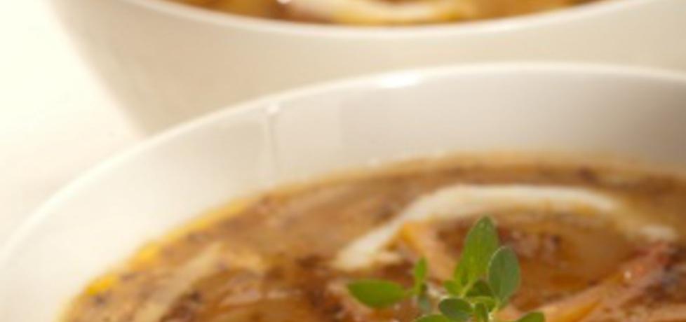 Pikantne flaczki z kalmarów z borowikami i suszonymi pomidorami ...