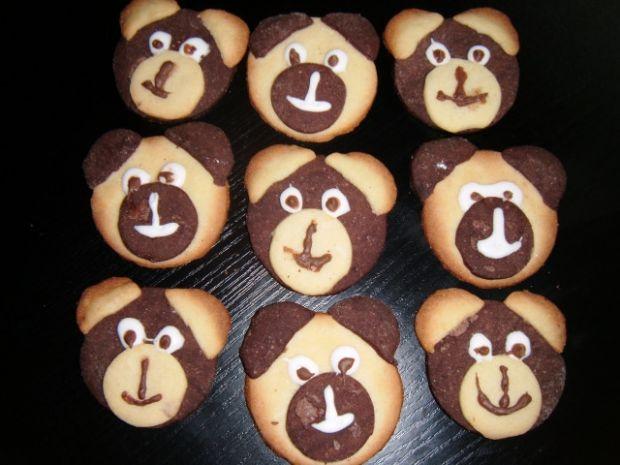 Ciasteczka misie  kulinarne abc
