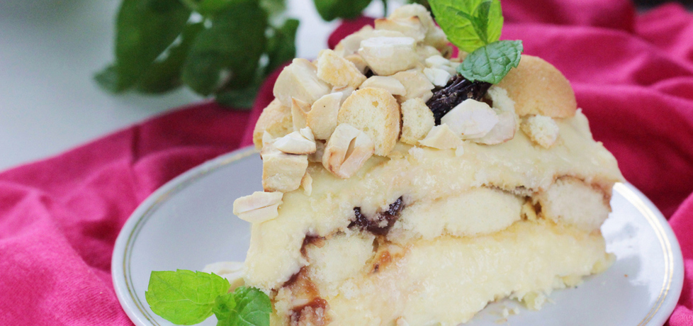 Ciasto malakoff bez pieczenia (autor: ostra-na