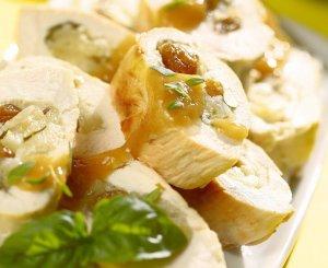 Piersi kurczaka z jabłkami  prosty przepis i składniki