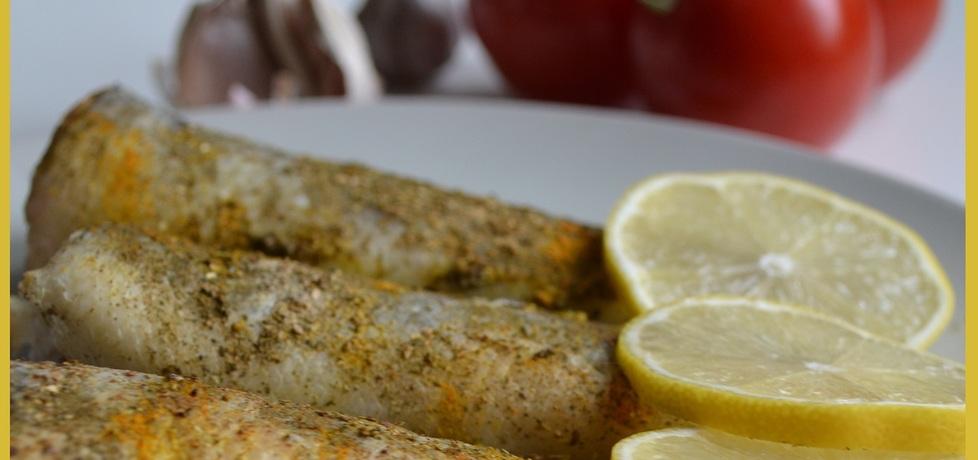 Nototenia w curry pieczona w piekarniku (autor: wyattearp ...