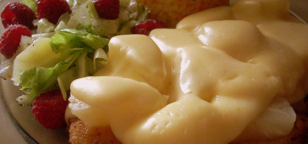 Schabowy z ananasem i serem (autor: smacznapyza ...