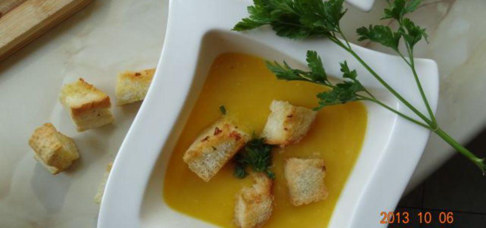 Zupa dyniowo  czosnkowa (autor: stokrotka)
