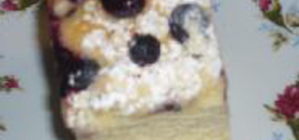 Ciasto drożdżowe z jagodami (autor: wafelek2601)