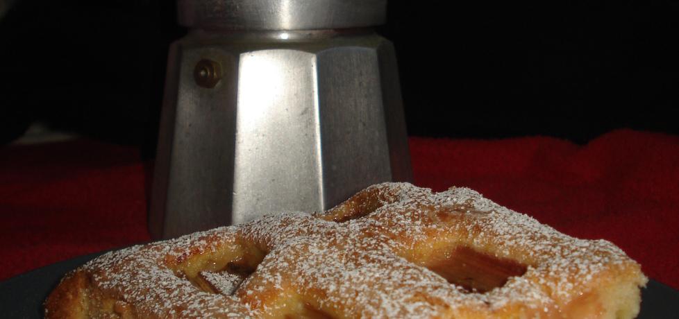 Ciasto do kawy z rabarbarem (autor: norweska20)
