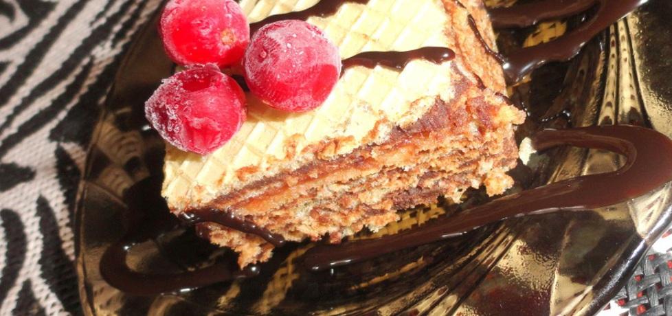 Wafelek andrucik czekoladowo wiśniowy (autor: rafal10 ...