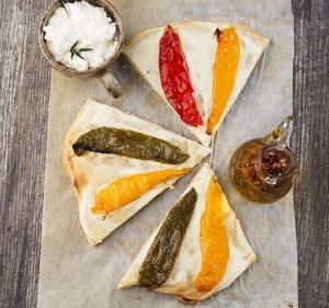 Pizza z ricottą i papryką  prosty przepis i składniki