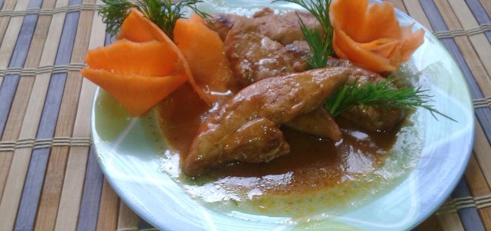 Marynowane i pieczone polędwiczki z kurczaka (autor: bozena ...