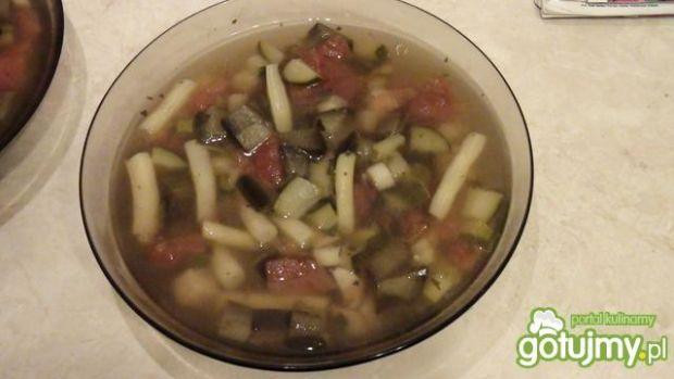 Przepis  zupa włoska z bakłażanem przepis
