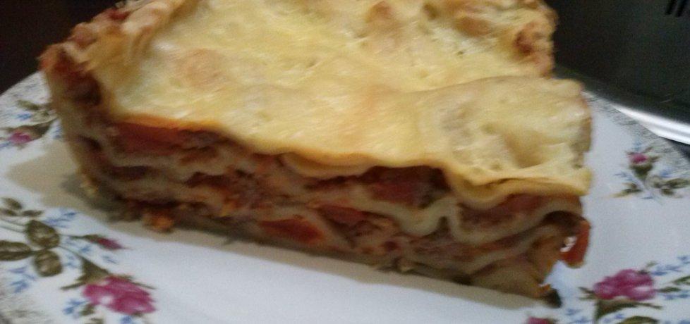 Lasagne z mięsno