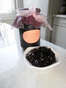 Frużelina z czarnej porzeczki (owoce w żelu)