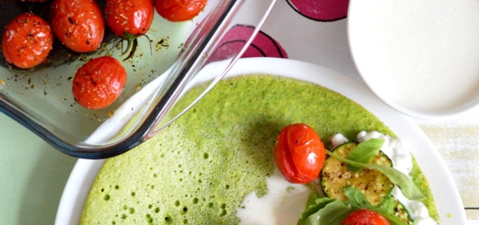 Noturalny- zielony omlet (autor: bernadettap)