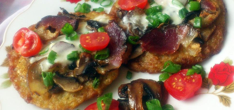 Pizzerinki z placków ziemniaczanych (autor: diana