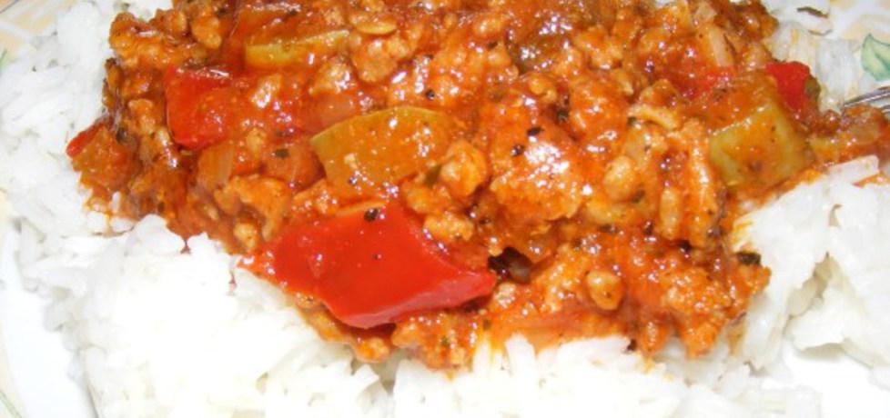 Sos z mięsem mielonym do ryżu (autor: michal2)