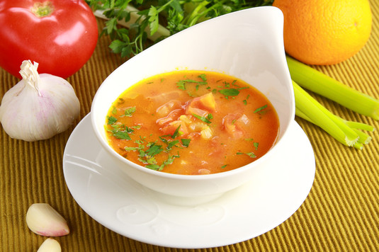 Zupa pomidorowa z nutą pomarańczy