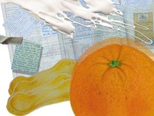 Pomarańczowe tiramisu (tiramisu all'arancio)