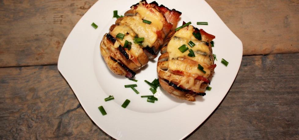 Ziemniaki zapiekane z boczkiem i serem (autor: justynkag ...