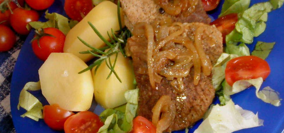 Stek wieprzowy z cebulką (autor: ania2610)