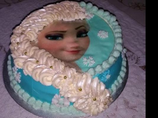 Tort frozen (kraina lodu)