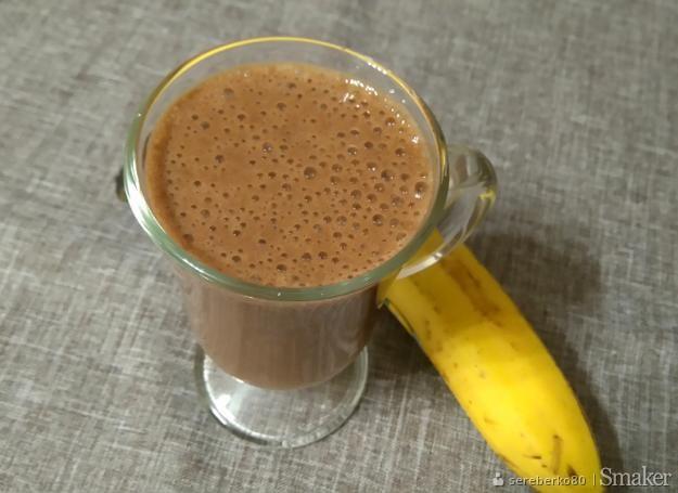Kawowo  bananowe smoothie