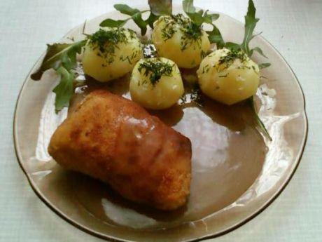 Przepis  pierś z kurczaka z serem na masełku przepis