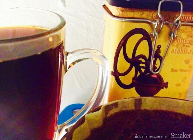 Jej wysokość kawa z dripa w towarzystwie imbiru