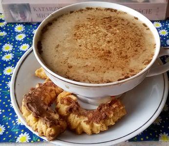 Kawa z kardamonem i cynamonem